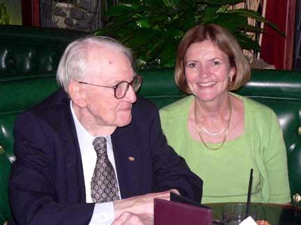 Nestor Sander and Vicci Thompson