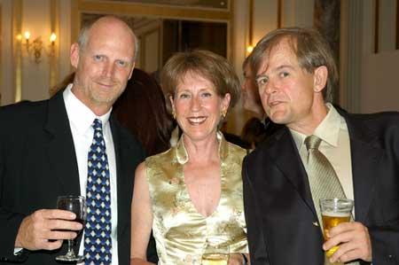 Chris, Gunilla and Rob