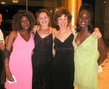 Andris, Diana, Mimi and Marie