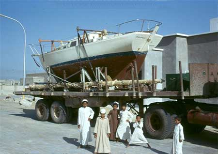 Departure; Dammam, Saudi Arabia