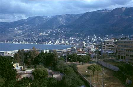 Jounieh Bay and City, Lebanon