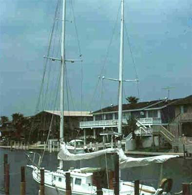 Wakarelu in Rockport Slip, 1981