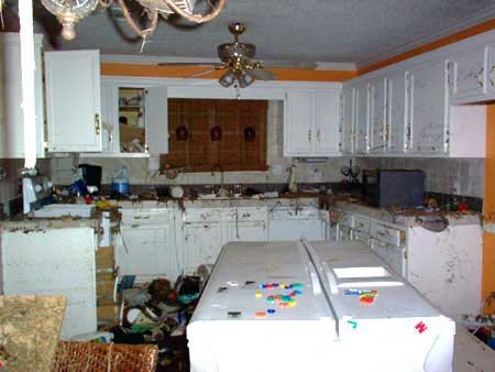 Kitchen After the Hurricane
