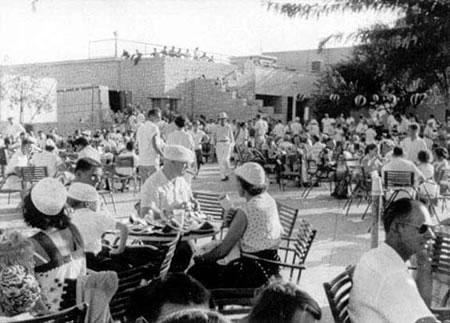 Dhahran Patio Party - 1949