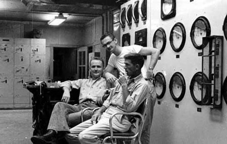 Power House Control Room - Abt 1956