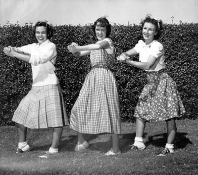 Rah Rah Girls - 1948/49