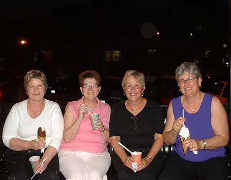 Wanda, Mary, Jane and Sharon