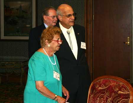 Mary Adams and Chuck Sawaya