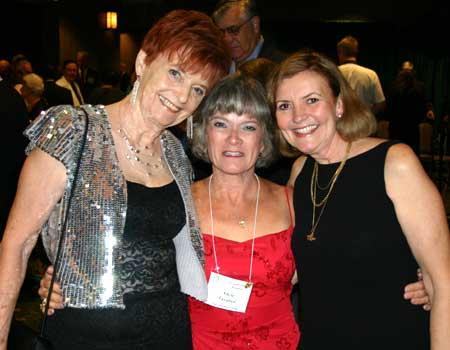 Sharon Green, Adele Tavares and Vicci Thompson