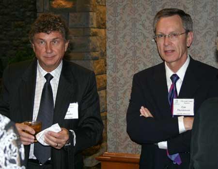 Mel Misanko and Tom Thorstenson