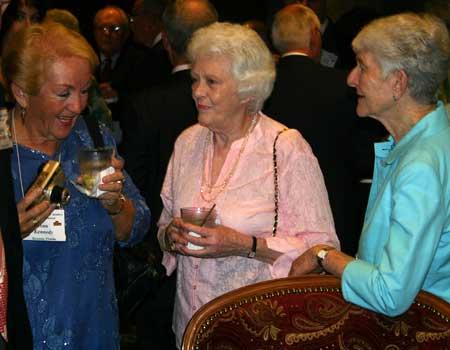 Ann Kennedy, Mary Ann Pettigrew and Sue Barracano