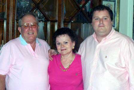 Frank, Judy, and Edward Corts