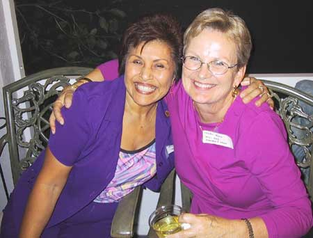 Betty Sandifer and Karen Irwin