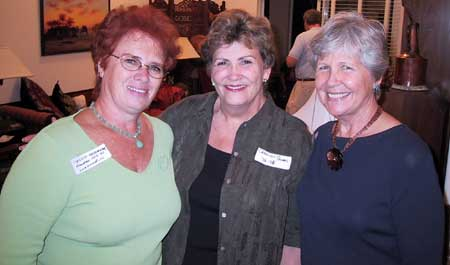 Maggie Shoemaker, Carolyn Thomas and Barb Salstrom