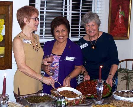 Beverly Shook, Betty Sandifer and Barby Salstrom
