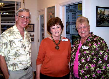 Fred Shoemaker, Shirley Savage and Penny Spaid