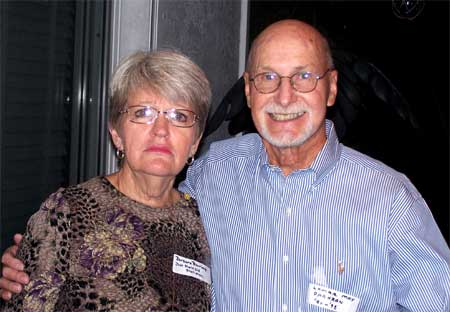 Barbara Bourland and Lamar May