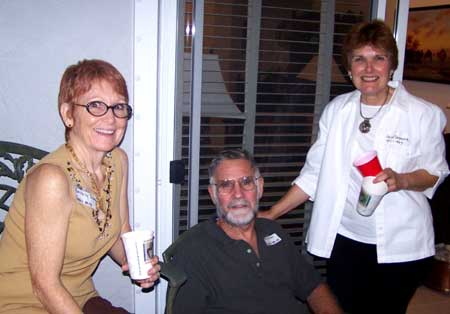 Beverly Shook, Mike Shook and Anne Seymore