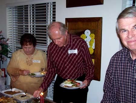 Mr. and Mrs. Ron Blansanakis and Richard Savage