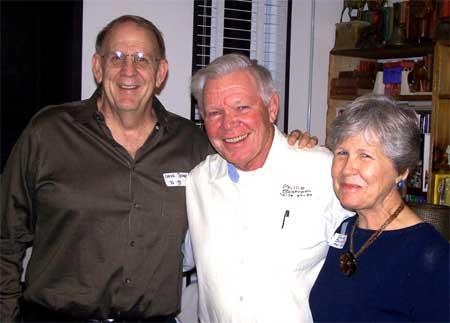 Dave Thomas, Phil and Barbara Salstrom
