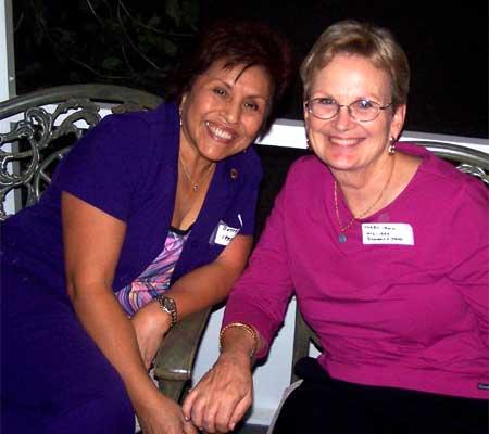 Betty Sandifer and Karen Irwin