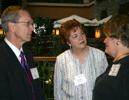 Tom Thorstenson, Paulette Misanko and Linda Thorstenson