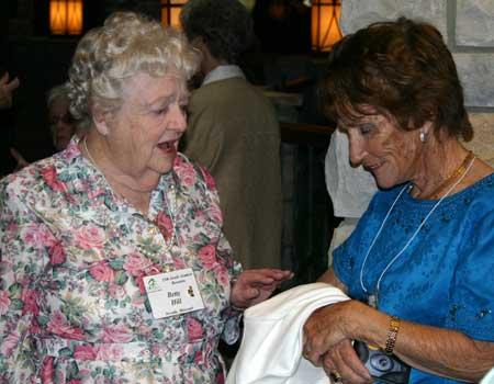 Betty Hill and Wilma Haggard