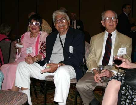 Colleen Calligeros, John Calligeros and Fred Hilton