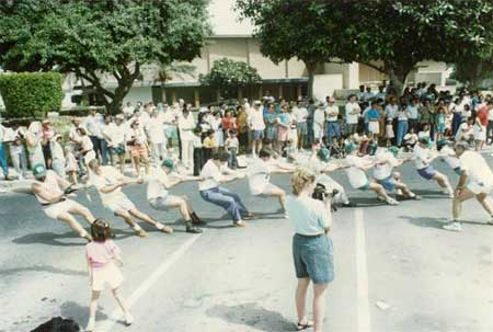 Ras Tanura Sport Rally Tug of War - 1992