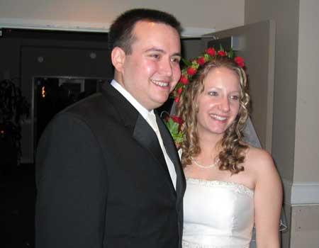 Claire Lindsay and Tony Mello