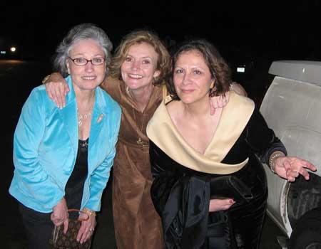 Christine Putnam, Vicci Thompson & Pat Lemons