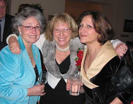 Christine Putnam, Jutta  Lindsay & Pat Lemons
