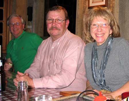 Ric Putnam, Chuck & Jutta Lindsay