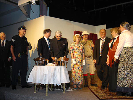 Cast of Arsenic and Old Lace