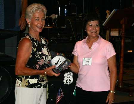 Sally Aslan and Brenda Schnell