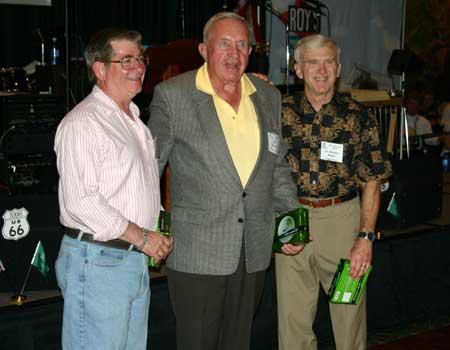 Jon Foster, Bill Mulcahy, and Dr. Michael Butler