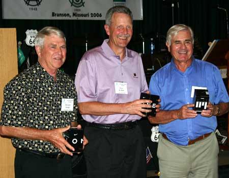 Richard Savage, Wiley McMinn, and Glyn Jenkins