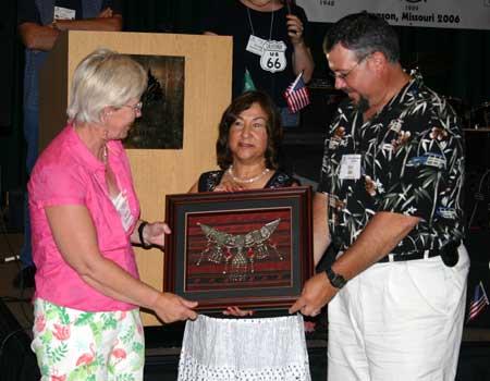 Karen Eaton Hinz, Catarina Beresky, and Dave Hinz