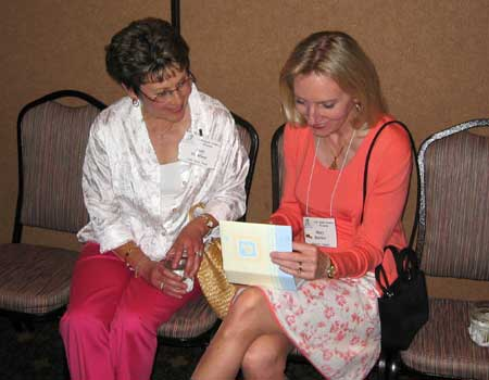 Judy McMinn and Mary Barber