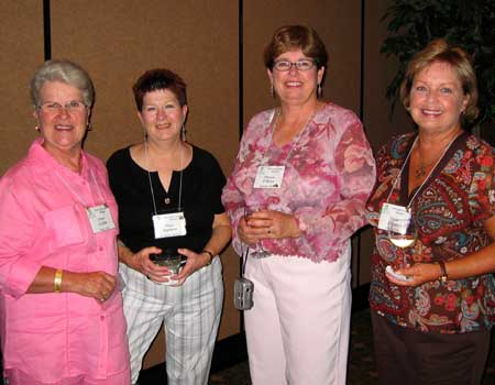 Ginny Griffith, Mary Stephens, Sharon O'Brien, and ?