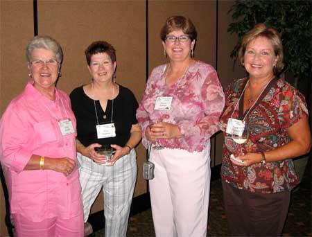 Ginny Griffith, Mary Stevens, Sharon O'Brien & Sheila Stevens