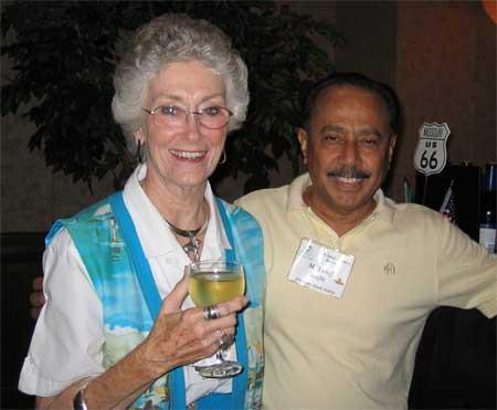 Yvonne Rosenquist & M. Yusof Rafie