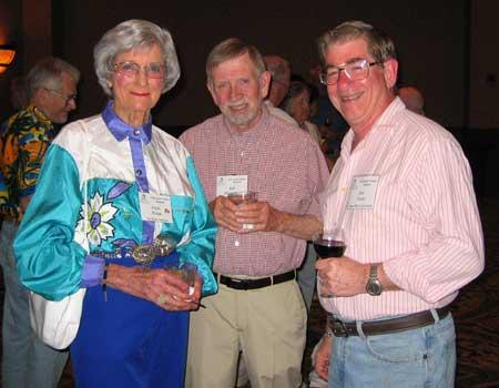 Chris Fields, Bill Hostetler, and Jon Foster