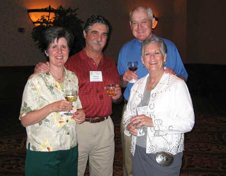 Melanie & Michael Jurlando and Bill & M.A. Holmes