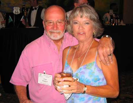 Tom Padgett and Adele Tavares