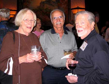 Mrs. Grignon, Fred Aslan and Warren Kelley