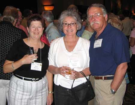 Mary Stephens, Christine Putnam, and Errol Thompson