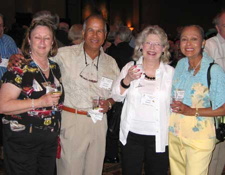 ?, Leonard Gonzales, Carol Quayle, and Carol