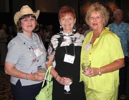 Sue Foster, Sharon Green, and Darlene Dowell
