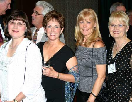 Sue Foster, Cindy Prevost, Nanette Langon, Kathy Klingman